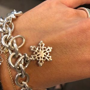 Jewelry - Tiffany an co Snowflake Charm Pendant